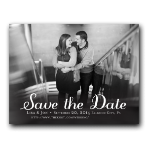 Save the dates are almost a requirement for some weddings, such as destination, holiday and summer weddings.