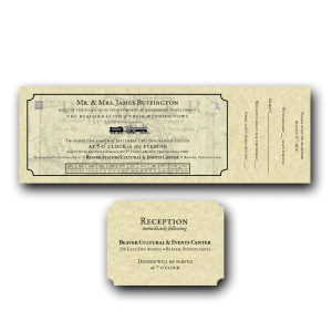 Train Ticket Invitation