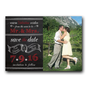Save the Dates are the perfect opportunity for you to have fun and to set the tone for your wedding!